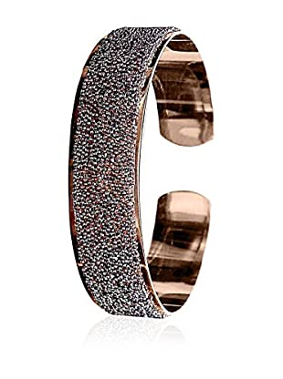 Annie Ram Brazalete Crystal Sand Metal Rosado