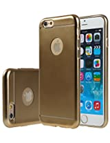 iPhone 6s Plus / iPhone 6 Plus Case Cover, E LV Apple iPhone 6s Plus / iPhone 6 Plus ULTIMATE Protection SUPER SLIM Anti-slip coat Protective TPU Case Cover for iPhone 6s Plus / iPhone 6 Plus (5.5 INCH) - GOLD