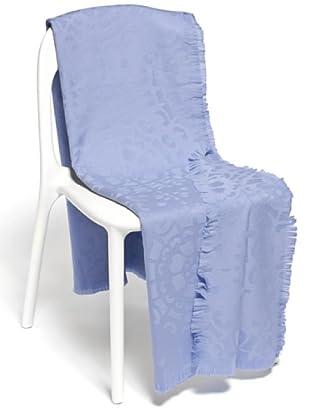 Frette Plaid 100% Merino Wool (azzurro)