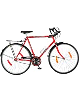 Hero Hawk 27T Single Speed Cycle (Red)