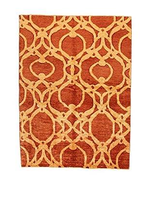 Design Community By Loomier Teppich Oz Ziegler Mirage rot/beige 170 x 230 cm