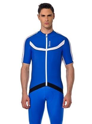 Santini T-Shirt (Blau/Weiß)