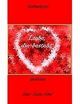 Liebe, die besteht: Gedichte (Liebeslagen 2) (German Edition)