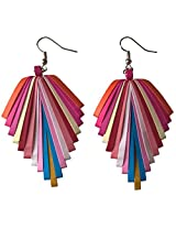 Designer's Collection Paper Quilling Ear Rings for Women-DSERC015