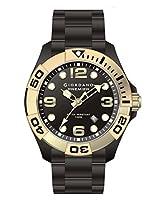 Giordano Analog Black Dial Men's Watch - P156-44