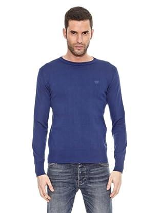 Bendorff Jersey Básico Cuello Redondo (Azul)
