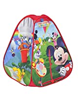Disney 4 Panel Popup Tent, Multi Color (Mickey Mouse Club House)