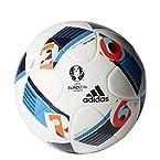 adidas Euro 16 Topgli Football, Men's Size 5 (White)