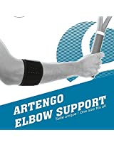 ARTENGO TENNIS ELBOW BRACE - BLACK