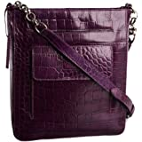 Osprey Carapace-polished Croc Cross Body Bag
