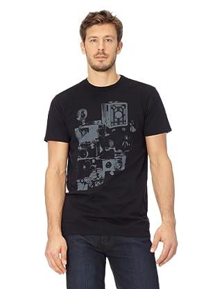 ANALOG Herren T-Shirt Analog Auto Focus VTC (Black)