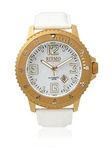 Ritmo Mundo Unisex Hercules Titanium White Stainless Steel Watch