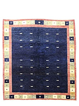 Bashian Rugs Hand Knotted One-of-a-Kind Pak Gabbeh Rug, Dark Blue, 6' 7