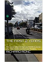 The First 2 Years: The most valuable tips and tricks to keep you safe on the road as a new rider.