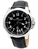 Tommy Hilfiger Analog Black Dial Men's Watch - NTH1710301J