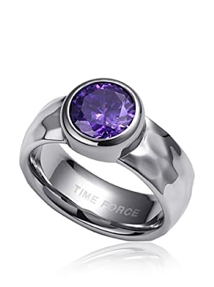 TIME FORCE Anillo TS5040S (Plata)