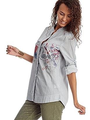 Desigual Bluse klassisch White Shirt