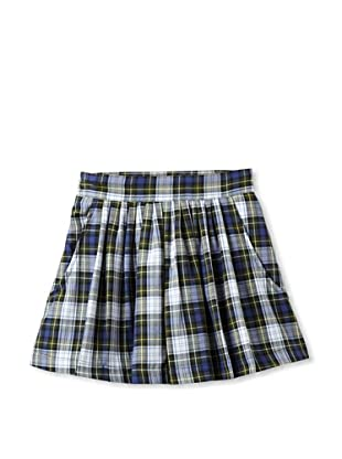 Elephantito Girl's 2-8 Plaid Skirt (Plaid Navy)