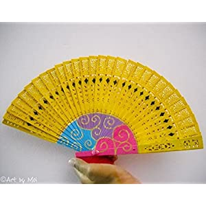 Art by Moi Hand fan