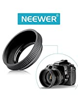 Neewer® 55mm Standard Collapsible Rubber Lens Hood Shade for Digital Camera Canon Nikon Sony Samsung Olympus Pentax Lens with 55mm Filter Thread