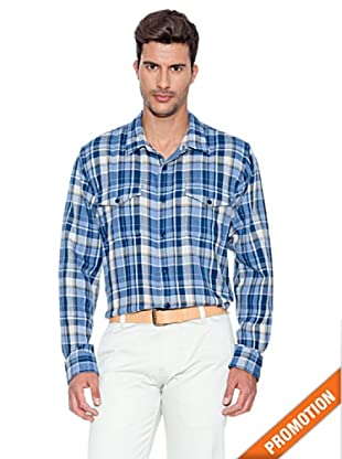 Dockers Camisa Doble (Azul)