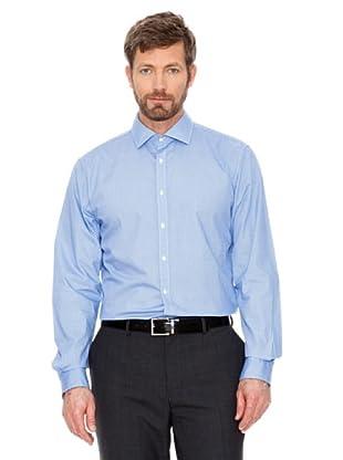 Cortefiel Camisa Urbano (Azul Claro / Marino)