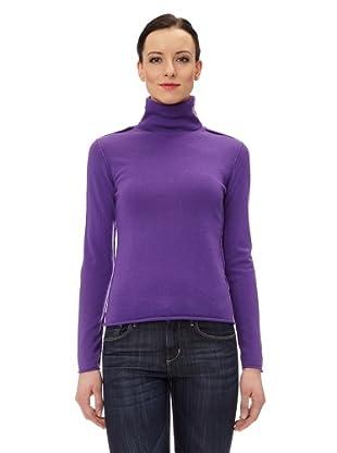 Ramosport Kaschmirrollkragenpullover (Violett)
