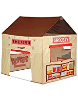Pacific Play Tents Grocery Store/Puppet Theater Tent Playhouse
