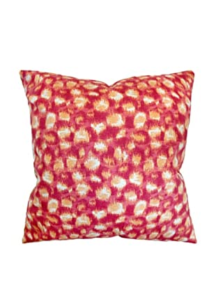 The Pillow Collection Imperatriz Geometric Pillow, Azalea