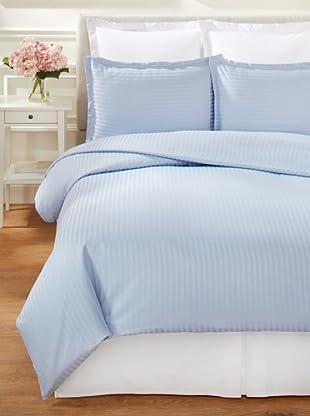 Mélange Home Dobby Duvet Cover Set (Blue)