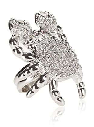 nOir Pavé Crabby Ring