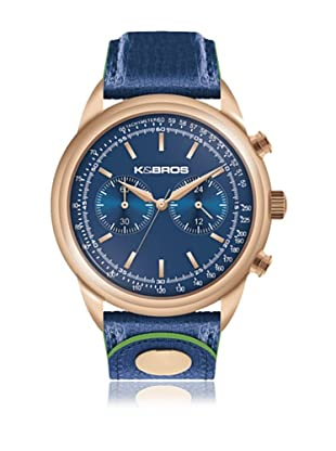 K&BROS Reloj 9491 (Azul)