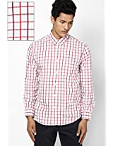 Red Slim Fit Shirt