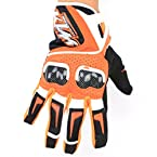 KTM Carbon Fiber Orange Gloves [Size : XL] (CSAUT188)