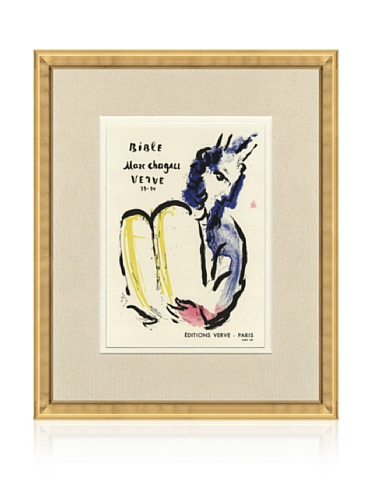 Marc Chagall Bible Verve, 1959, 14