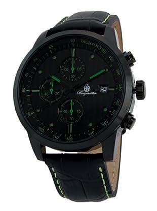 Burgmeister Herren-Armbanduhr XL Chronograph Quarz Leder BM607-620B