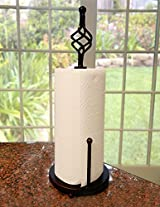 Mesa Open Spiral Collection Paper Towel Holder with a Solid Base