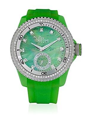 Vip Time Italy Uhr mit Japanischem Quarzuhrwerk VP8021GR_GR grün 43.00  mm