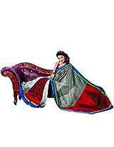 Bhavi Printed Kottayam Silk Sari