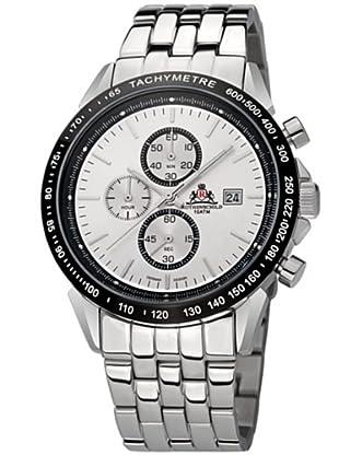 Rothenschild Armbanduhr Edelstahl/Silber/Silber