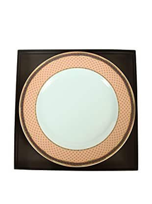 Versace By Rosenthal Russian Dream Plate, Pink/Blue/Gold
