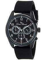 Lucien Piccard Men's LP-10588-BB-01-SA Moderna Analog Display Japanese Quartz Black Watch