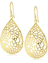 Argento Vivo 18k Gold-Plated Sterling Silver Drop Earrings