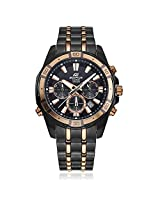 Casio Edifice Stopwatch Chronograph Multi-Colour Dial Men's Watch - EFR-534BKG-1AVDF (EX174)