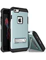 iPhone 6S Case, OBLIQ [Skyline Advance][Mint] with Metal Kickstand Thin Dual Layered Metallic Heavy Duty Hard Protection Hybrid High Quality Case for iPhone 6S (2015) & iPhone 6 (2014)
