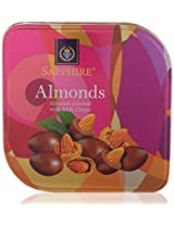 Sapphire Almonds Covered With Milk Choco, 90 Grams