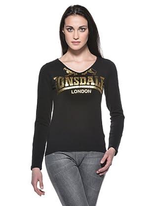 Lonsdale Camiseta Tally (Negro)