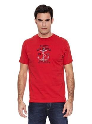 Pedro del Hierro Camiseta Ancla (Rojo)