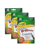 Crayola Large Dry Erase Crayons, Set of 24 (98-5200)