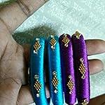 Blue n purple Fashion Bangle set of 4 2:6 size